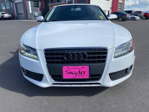 2012 Audi A5 for sale at Snyder Motors Inc in Bozeman MT