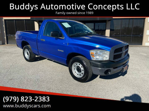 2008 Dodge Ram Pickup 1500 for sale at Buddys Automotive Concepts LLC in Bryan TX