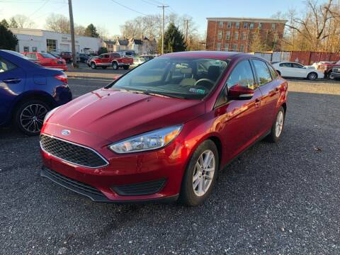 2017 Ford Focus for sale at Mayer Motors of Pennsburg in Pennsburg PA