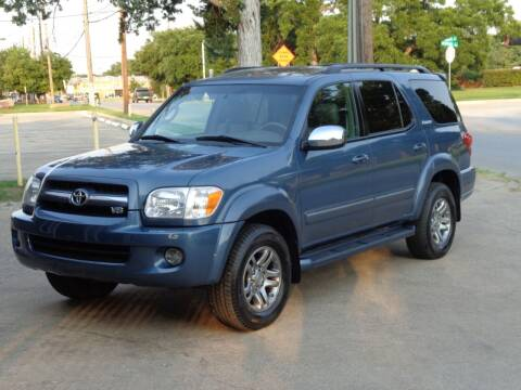 2007 Toyota Sequoia for sale at Auto Starlight in Dallas TX