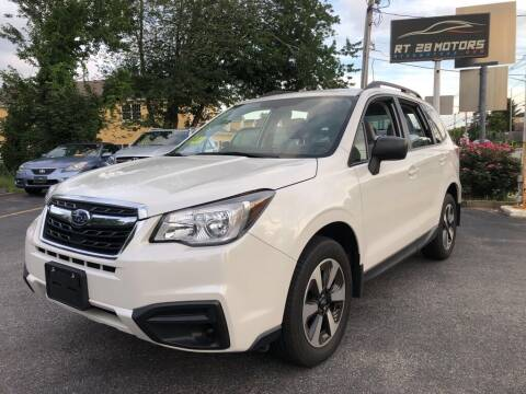 2018 Subaru Forester for sale at RT28 Motors in North Reading MA