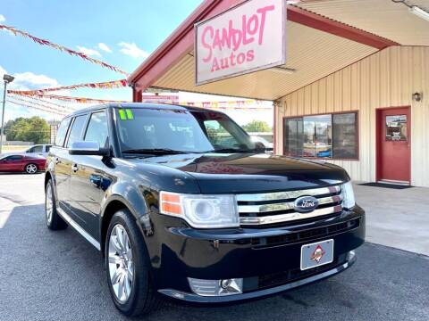 2011 Ford Flex for sale at Sandlot Autos in Tyler TX