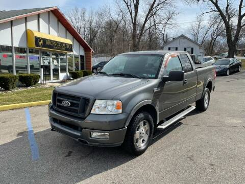 2004 Ford F-150 for sale at Bronco Auto in Kalamazoo MI