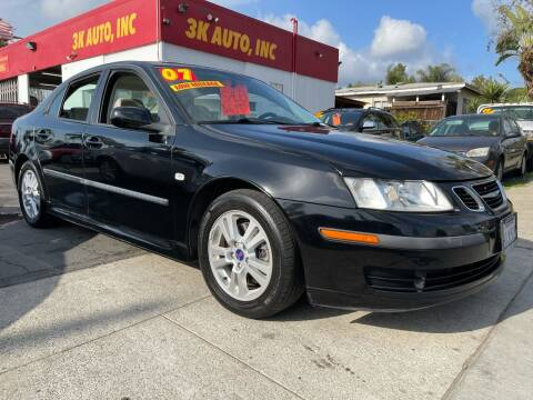 2007 Saab 9-3 for sale at 3K Auto in Escondido CA