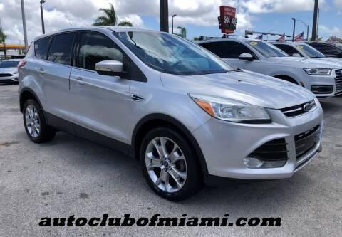 2013 Ford Escape for sale at AUTO CLUB OF MIAMI in Miami FL