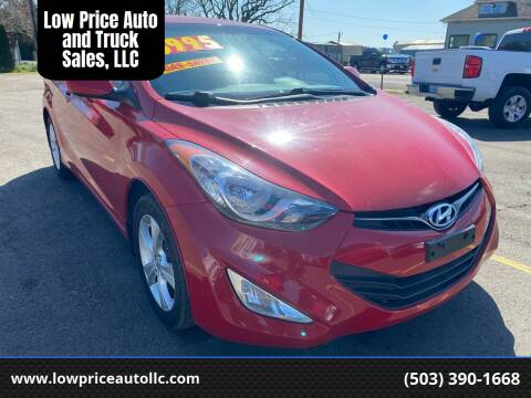 2013 Hyundai Elantra Coupe for sale at Low Price Auto and Truck Sales, LLC in Salem OR