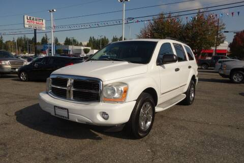 2005 Dodge Durango for sale at Leavitt Auto Sales and Used Car City in Everett WA