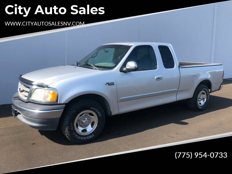 2000 Ford F-150 for sale at City Auto Sales in Sparks NV