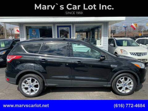 2013 Ford Escape for sale at Marv`s Car Lot Inc. in Zeeland MI