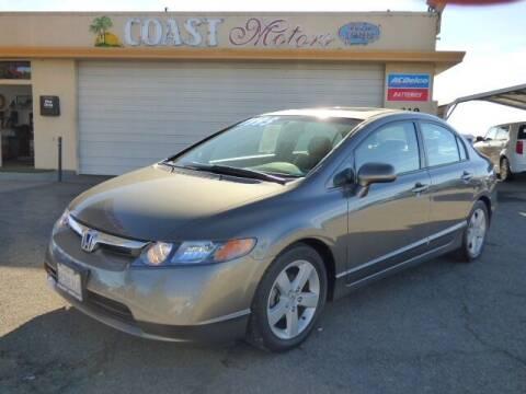 2007 Honda Civic for sale at Coast Motors in Arroyo Grande CA