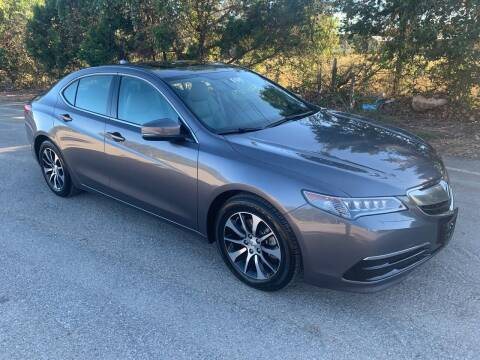 2017 Acura TLX for sale at TROPHY MOTORS in New Braunfels TX