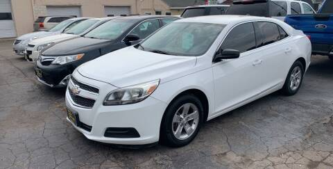 2013 Chevrolet Malibu for sale at PAPERLAND MOTORS in Green Bay WI