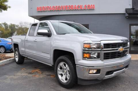 2015 Chevrolet Silverado 1500 for sale at Heritage Automotive Sales in Columbus in Columbus IN
