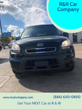 2011 Kia Soul for sale at R&R Car Company in Mount Clemens MI