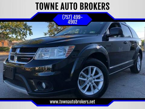 2013 Dodge Journey for sale at TOWNE AUTO BROKERS in Virginia Beach VA