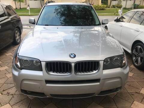 2006 BMW X3 for sale at UNITED AUTO BROKERS in Hollywood FL