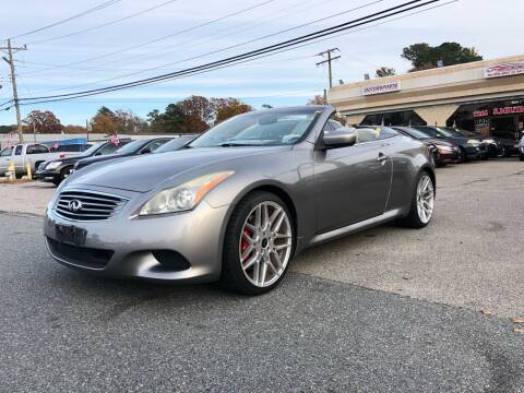 2009 Infiniti G37 Convertible for sale at Mega Autosports in Chesapeake VA