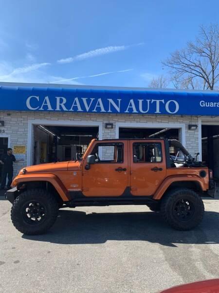 2010 Jeep Wrangler Unlimited for sale at Caravan Auto in Cranston RI