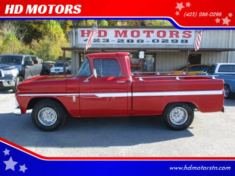 1963 Chevrolet C/K 10 Series for sale at HD MOTORS in Kingsport TN