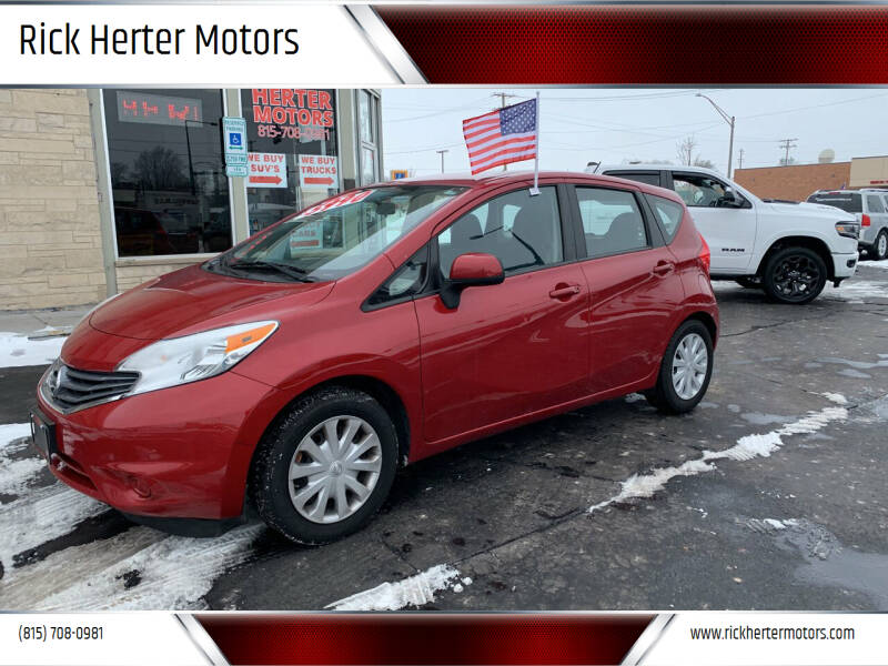 2014 Nissan Versa Note for sale at Rick Herter Motors in Loves Park IL