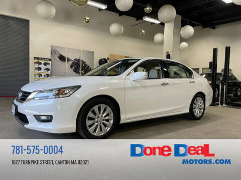 2015 Honda Accord for sale at DONE DEAL MOTORS in Canton MA