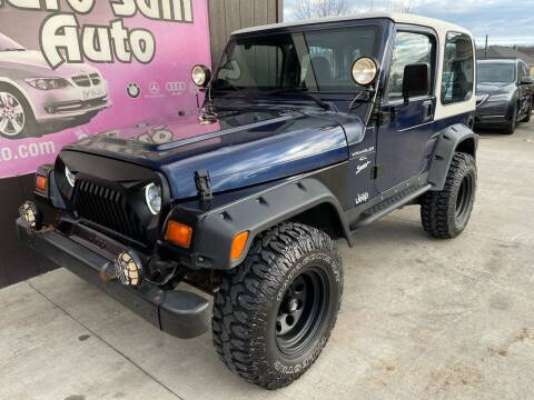 1997 Jeep Wrangler for sale at Euro Auto in Overland Park KS