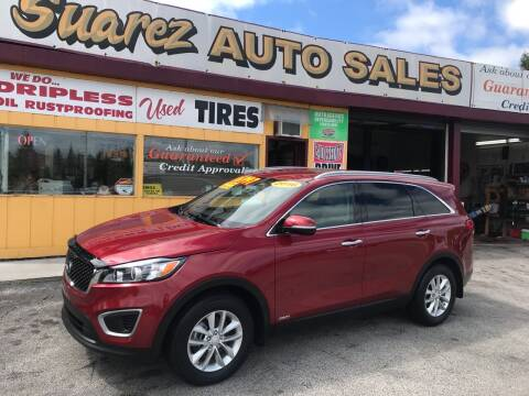 2016 Kia Sorento for sale at Suarez Auto Sales in Port Huron MI