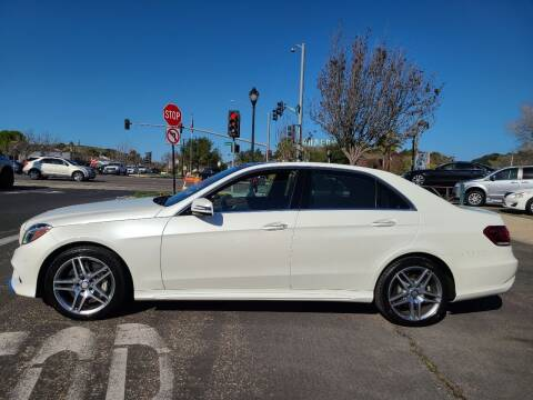 2014 Mercedes-Benz E-Class for sale at Coast Auto Sales in Buellton CA