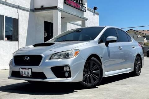 2015 Subaru WRX for sale at Fastrack Auto Inc in Rosemead CA