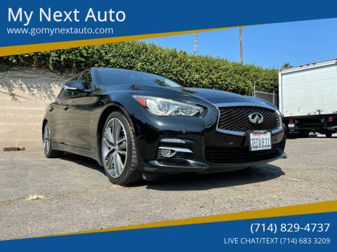 2014 Infiniti Q50 for sale at My Next Auto in Anaheim CA