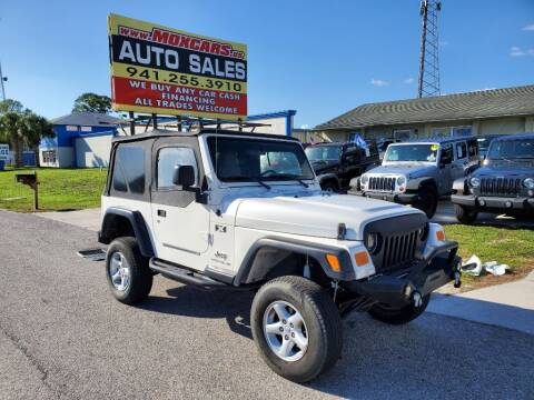 2004 Jeep Wrangler for sale at Mox Motors in Port Charlotte FL