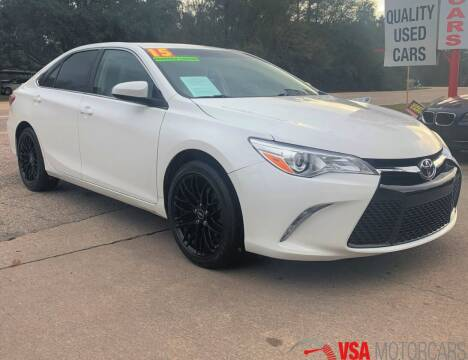2015 Toyota Camry for sale at VSA MotorCars in Cypress TX