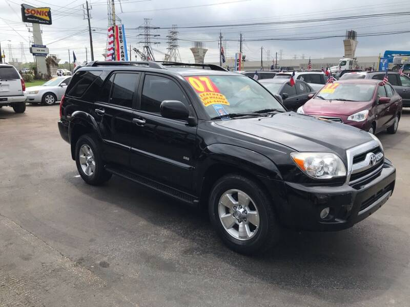 2007 Toyota 4Runner for sale at Texas 1 Auto Finance in Kemah TX