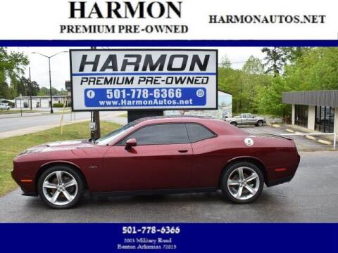 2017 Dodge Challenger for sale at Harmon Premium Pre-Owned in Benton AR