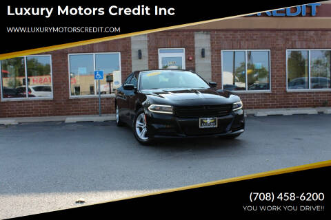 2016 Dodge Charger for sale at Luxury Motors Credit Inc in Bridgeview IL