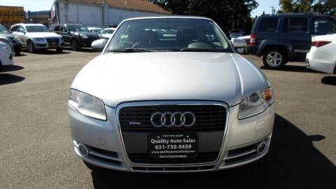 2007 Audi A4 for sale at QUALITY AUTO SALES OF NEW YORK in Medford NY