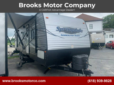 2018 Keystone Summerland for sale at Brooks Motor Company in Columbia IL