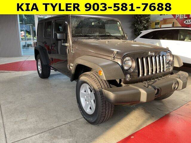 2017 Jeep Wrangler Unlimited for sale in Tyler, TX
