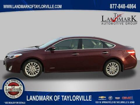 2015 Toyota Avalon Hybrid for sale at LANDMARK OF TAYLORVILLE in Taylorville IL