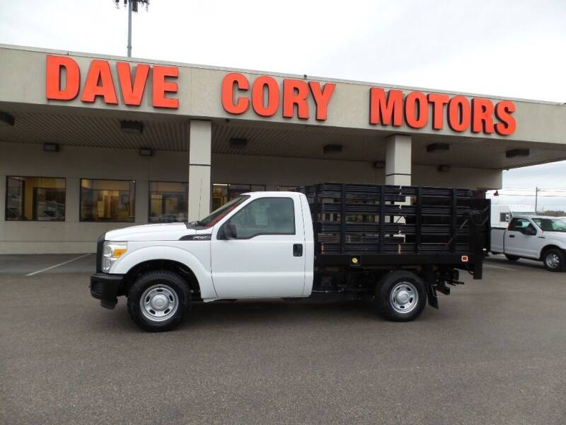 2012 Ford F-250 Super Duty for sale at DAVE CORY MOTORS in Houston TX