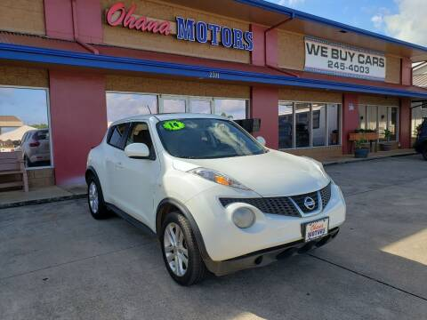 2014 Nissan JUKE for sale at Ohana Motors in Lihue HI