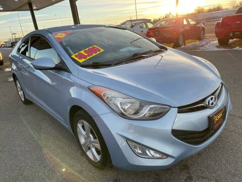 2013 Hyundai Elantra Coupe for sale at Top Line Auto Sales in Idaho Falls ID