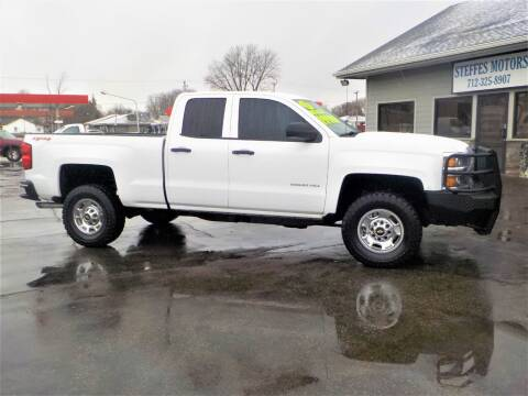 2015 Chevrolet Silverado 2500HD for sale at Steffes Motors in Council Bluffs IA