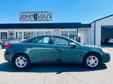2006 Pontiac G6 for sale at John Solis Automotive Village in Idaho Falls ID