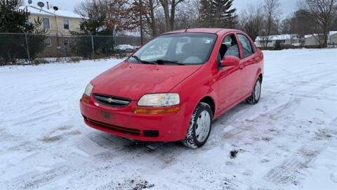 2004 Chevrolet Aveo for sale at WEINLE MOTORSPORTS in Cleves OH