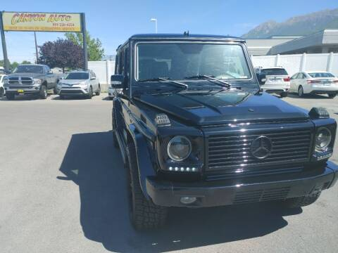 2004 Mercedes-Benz G-Class for sale at Canyon Auto Sales in Orem UT