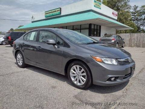 2012 Honda Civic for sale at Action Auto Specialist in Norfolk VA