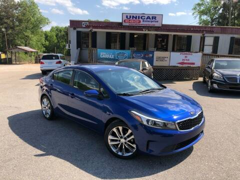 2018 Kia Forte for sale at Unicar Enterprise in Lexington SC