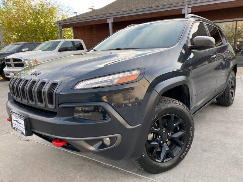 2016 Jeep Cherokee for sale at Global Automotive Imports of Denver in Denver CO