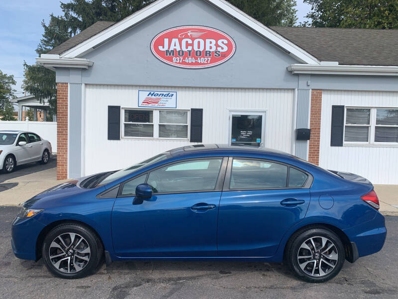 2015 Honda Civic for sale at Jacobs Motors LLC in Bellefontaine OH